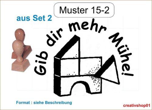 Schulstempel Stempel Schule Lehrerstempel Belobigungsstempel  M 15-2