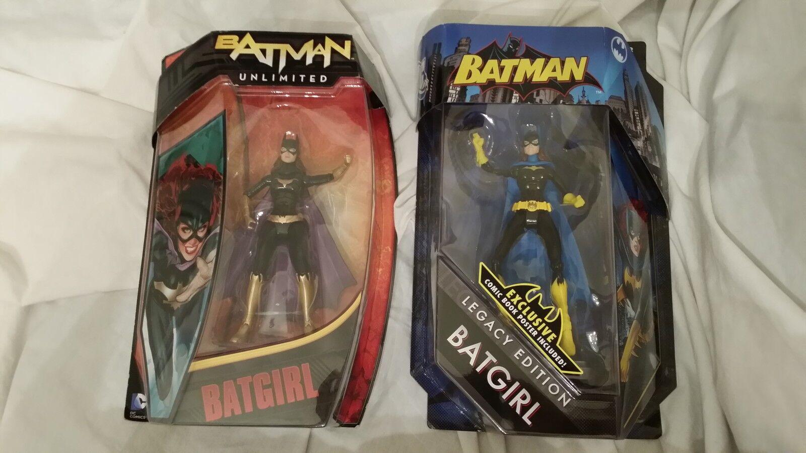 Batgirl unbegrenzte & batgirl legacy edition zahlen