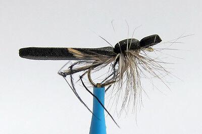 5 x Mouche de peche Nymphe Sedge H10//12//14//16 mosca fliegen nymph fly