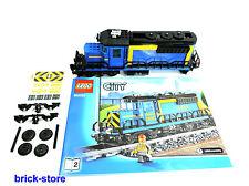 LEGO City/Ferrovia 60052 LOCOMOTIVA/TRENO MERCI/LOCOMOTIVA DIESEL senza Power