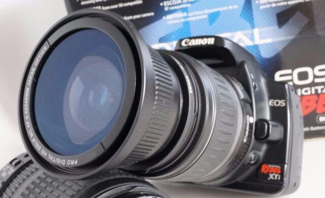Ultra Wide Angle Macro Fisheye Lens For Canon Eos Digital