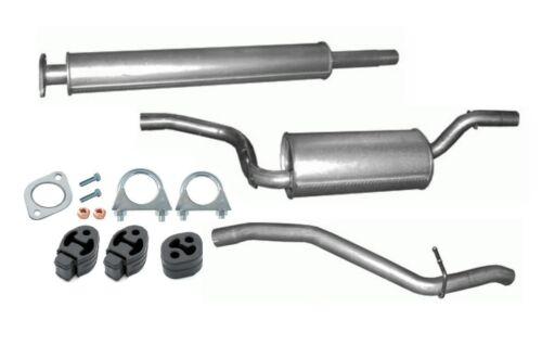 1.8 /& 2.0 Typ DA Stufenheck Abgasanlage Auspuffanlage  Ford Focus II 1.6Ti Kit