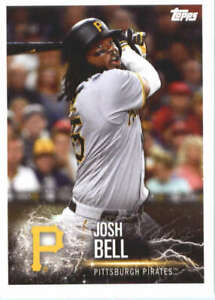 2019-Topps-MLB-Baseball-Sticker-205-Josh-Bell-Pittsburgh-Pirates