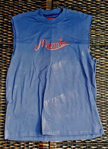 MAMBO MUSCLE LOUD T- SHIRT MEDIUM MATTHEW MARTIN E-MALE EH-MAMBO MOUSE!!!!!!!!!!
