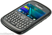 Genuine Original BlackBerry Curve 9320 Premium Black Shell Case ACC-46610-201