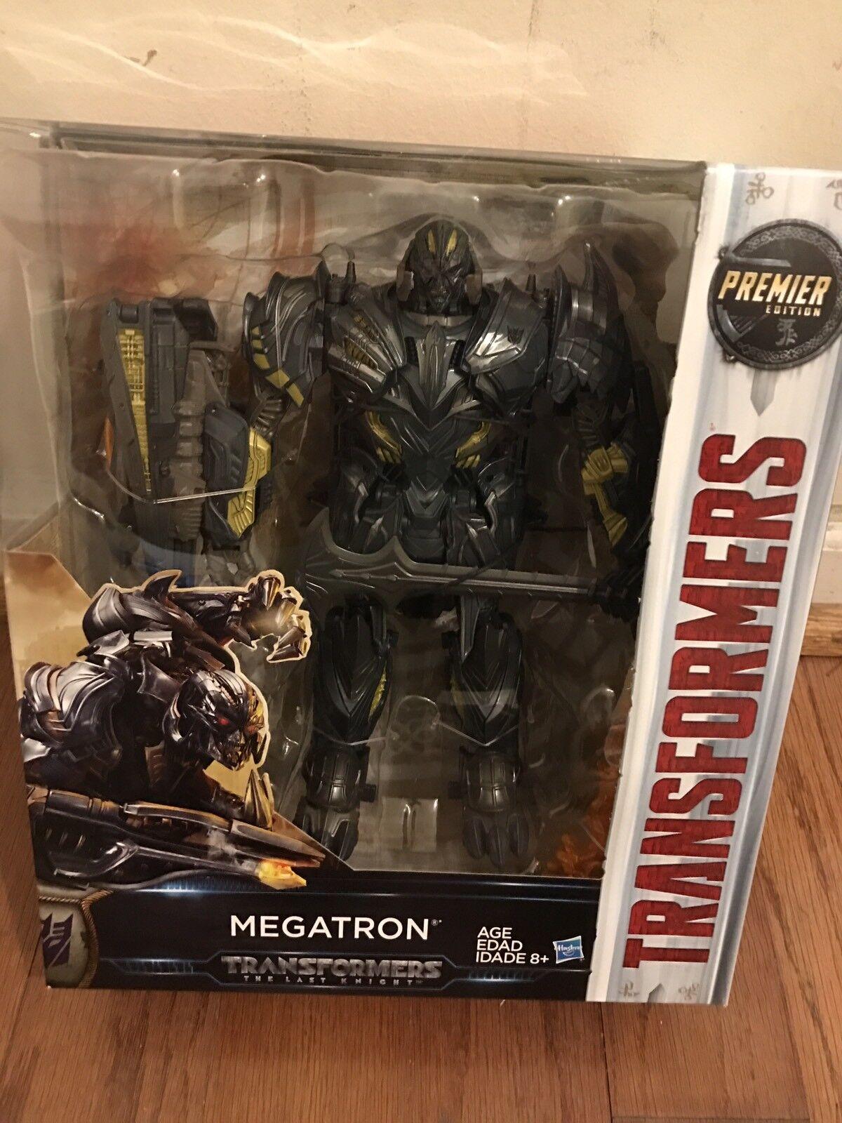 Nouveau Transformers   Le dernier chevalier PREMIER EDITION Leader Class Megatron 9 in (environ 22.86 cm)  marchandise de haute qualité et service pratique et honnête