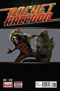 Rocket Raccoon #1 Movie 1:15 Variant Marvel 2014 Guardains