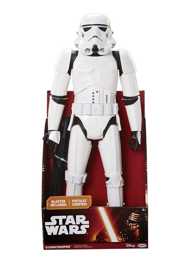 Star Wars Jakks Big Figs - Imperial StormTrooper with Blaster - Articulated 48cm