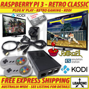 RetroPie-Game-Console-KODI-RetroPi-Raspberry-Pi-3