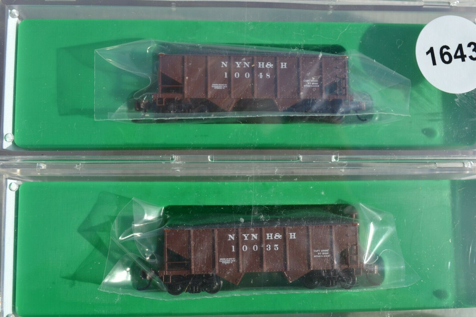 Bowser 2 bay hopper NYNH&H brown  6 pk different different different numbers 1c30f7