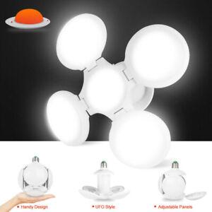 E27-Deformable-LED-Garaje-Bombilla-Techo-Instalacion-Luz-Tienda-Taller-Lampara