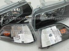 G#88 Headlights Headlamps for Toyota Corolla AE92 AE93 AE94 E90 EE90 sedan 89-92