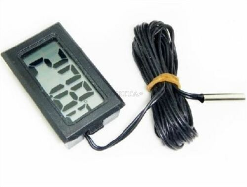 70°C Ic New cn T110 Digital Thermometer Temperature Meter With 2M Probe 50°C