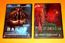 DAGON LA SECTA DEL MAR / PSICOFONIAS 1.0 - Terror español - 2 dvds Precintada