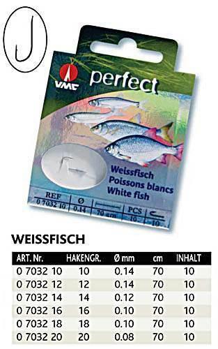 VMC Perfect Weissfischhaken gebundene Haken verschiedene Sorten