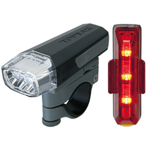 Topeak Highlite Combo Aero Bike Light Set - TMS070