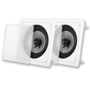 Acoustic-Audio-CSi82S-In-Wall-Ceiling-8-034-Speaker-Pair-Home-Theater-Speakers