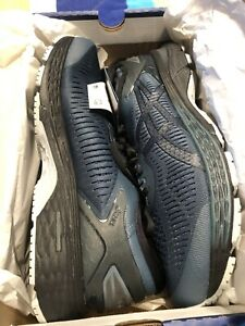 MENS-ASICS-GEL-KAYANO-25-SZ-11-5-NEW-WITH-BOX-IRON-CLAD-BLACK