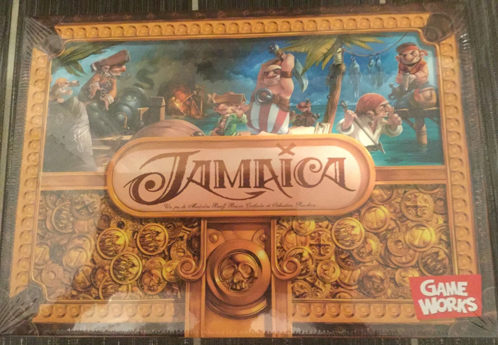 Game Works  Jamaica board game  shrink wrapped. Asmodee