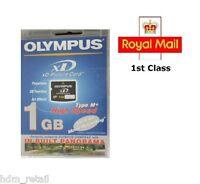 1GB HIGH SPEED OLYMPUS XD MEMORY CARD 1 GB TYPE M+ FUJI FINEPIX/OLYMPUS CAMERAS