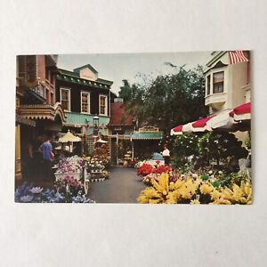 Flower-Mart-Disneyland-Unposted-Postcard