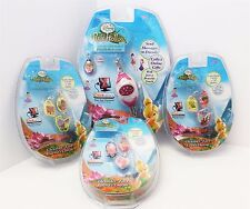 Disney Pixie Hollow Clickable Pink Friendship Bracelet Bonus & 3 Fairy Charms
