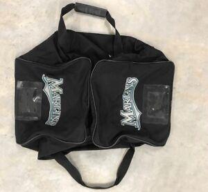 Florida Marlins Game Used Medium Size Duffle Equipment Bag