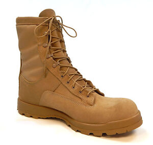 Bates E33500 Tempetate Cold Weather GoreTex Tan Boot 9R Regular RIGHT BOOT ONLY