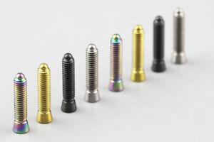 1pcs-Titanium-M4-x8-5-20mm-bike-Transmission-tension-limit-adjusting-screw-bolt