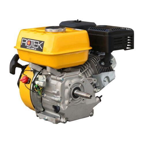 212 Benzinmotor 200 ccm 6PS Konuswelle Handstart konische Welle 19mm L:72mm