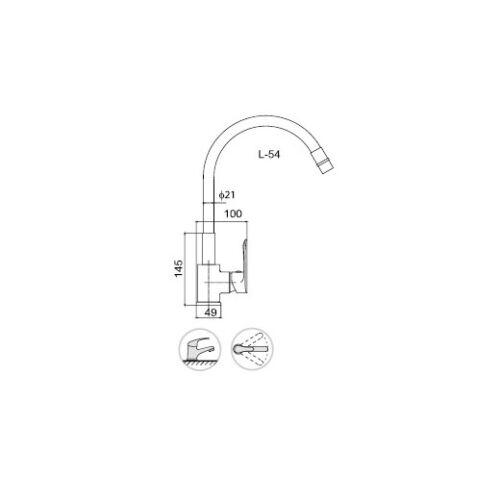 360°Schwenkbar Küchenarmatur Violett Wasserhahn Spültisch Armatur Flexibel NEU