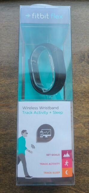 Black for sale online Fitbit Flex Wireless Activity Sleep Wristband