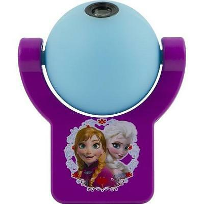 Disney Projectables Frozen LED Plug-In Night Light, 13340, Image Projects Onto