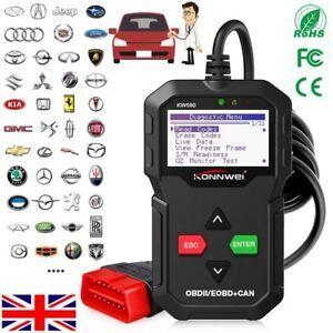 Details about OBD2 Car Fault Code Reader EOBD OBDII Vehicles Scanner  Diagnostic Tool KW590