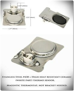 Details about Magnetic Thermostat Switch Fan Thermo Control Heat Best Wood  Burner Stove Parts