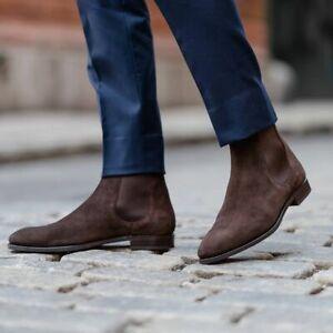 Handmade Mens Chelsea boots, Mens ankle
