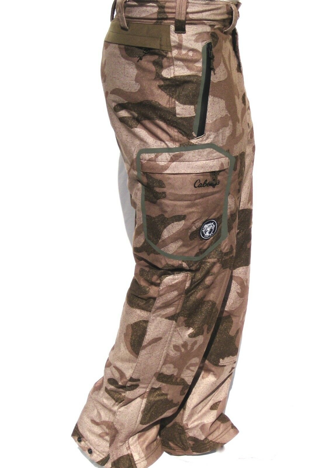Cabela's Men's ALASKAN Guide Dry-Plus Hunting Pant Waterproof Outfitter Camo