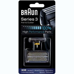 BRAUN-30B-7000-4000-Series-3-Shaver-Foil-Cutter-Combipack-Replacement
