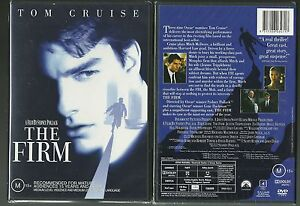 THE-FIRM-TOM-CRUISE-GENE-HACKMAN-HOLLY-HUNTER-JEANNE-TRIPPLEHORN-GREAT-NEW-DVD