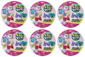 Pikmi-Pops-Surprise-Bows-2-Pack-Lot-of-6-Blind-Bags-NEW-SEALED