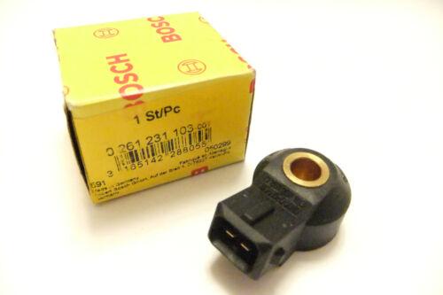 BOSCH 0261231103 Engine Knock Sensor FOR MERCEDES BENZ SAAB VOLVO VW TOYOTA