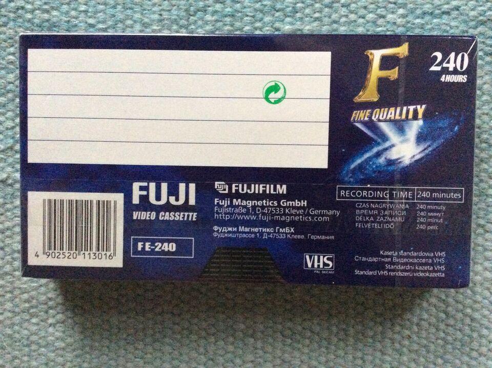 Tilbehør, Fuji, Fuji 240 video Cassette