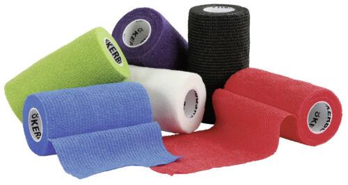 selbsthaftend 10 cm breit Bandagen verschiedene Farben Bandage Verband Klauen