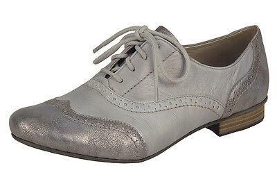 Femmes Lacets Formelle Chaussures Rieker 51933 Gris EU Taille 37, 38, 39, 40, 41, 42   eBay