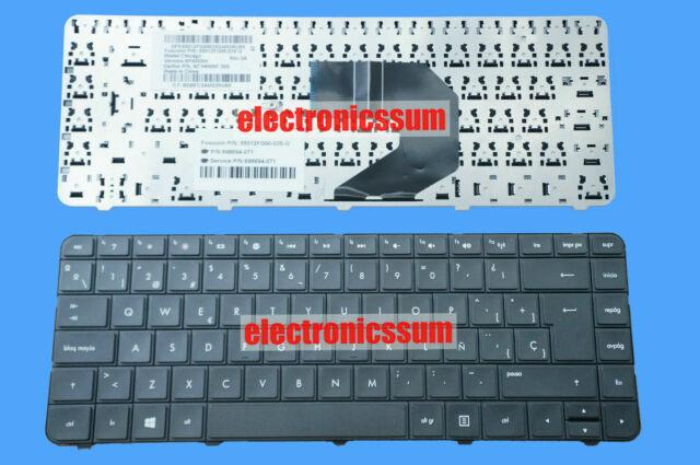 FOR HP Pavilion 14-n003la 14-n005la Keyboard NO Frame Latin Spanish Teclado BLK
