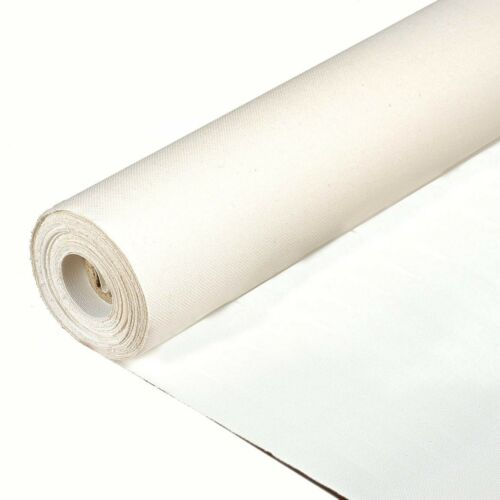 "Primed Cotton//poly portrait Canvas Roll  6 yds x 72/"" wide. Sunbelt Mfg Co"