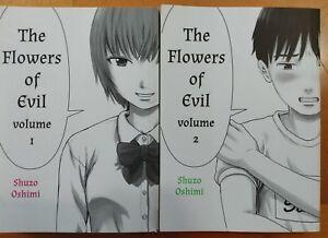 Details about Flowers of Evil Aku no Hana manga by Shuzo Oshimi volumes 1  and 2, used
