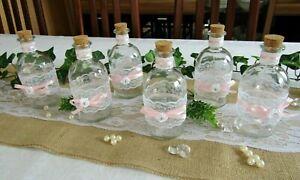 Details Zu Deko Set Vintage 6 Teilig Vasen Spitze Shabby Tischdeko Hochzeit Taufe