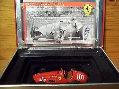 1/43 La Storia Ferrari 500 F2 Alberto Ascari Vincitore Germania 1952 Campione Del Mondo-mostra Il Titolo Originale