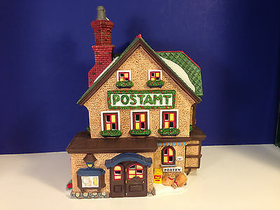 Dept 56 Alpine Village CHRISTKINDL POST OFFICE w/ box NEW! Combine Shipping!